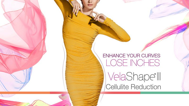 Lose inches with VelaShape III's cellulite reduction